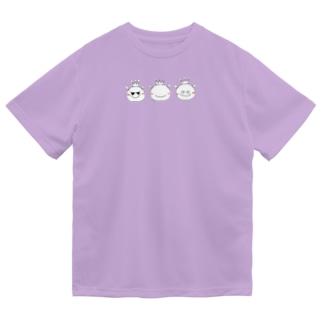 おうさまくんshopの3匹のおうさまくん Dry T-Shirt