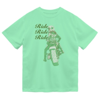 HIGEQLOのRide Ride Ride Dry T-shirts