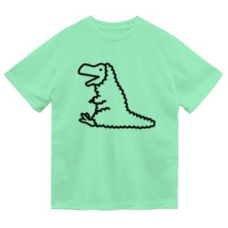 ティラノサウルス羽毛バージョン Dry T-Shirt