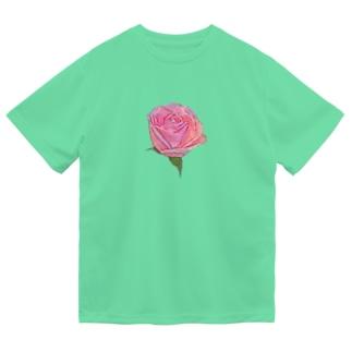 バラ Dry T-Shirt