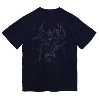 たぴおか 白 Dry T-shirts