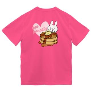 うさパンケーキ ドライTシャツ