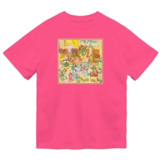 露店の雑貨 ドライTシャツ