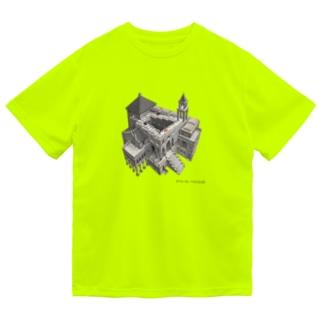 名画を楽しむてんとう虫~無限に登れる絵画~ Dry T-Shirt