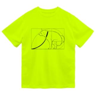 ka92の黄金比犬・乾 Dry T-Shirt