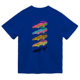イリエワニとホネ Dry T-Shirt