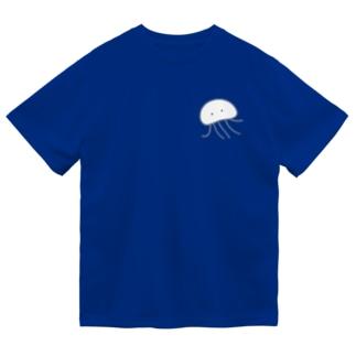 くらげさん Dry T-shirts