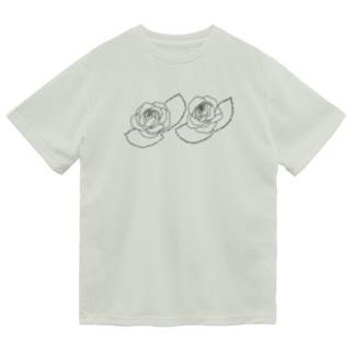 シンプル薔薇グッズ Dry T-Shirt