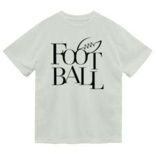 FOOTBALL-モダン ドライTシャツ