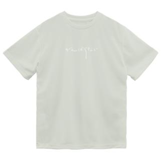 がんばらない(白文字) Dry T-Shirt