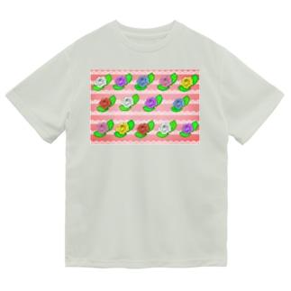 華やか薔薇 Dry T-Shirt