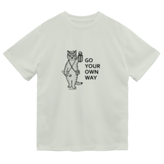 mikepunchのGO YOUR OWN WAY Dry T-Shirt