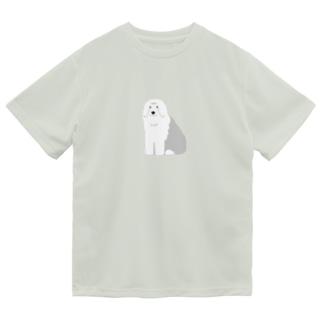 オールドイングリッシュシープドッグ Dry T-shirts