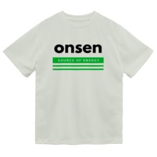 温泉(Source of energy,kg) ドライTシャツ