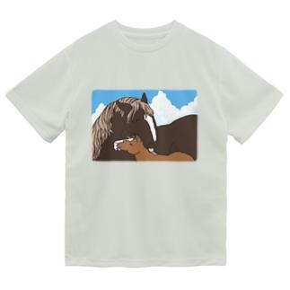 優しいおかさんとぼく Dry T-Shirt