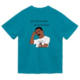 夏の文豪Tシャツを着た夏の文豪 Dry T-Shirt