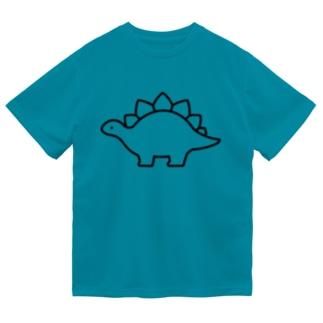 ステゴサウルス Dry T-Shirt