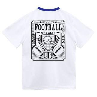PB-FOOTBALL ブラック ドライTシャツ