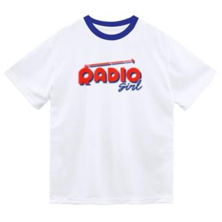 RADIO girl ドライTシャツ