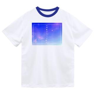 かなしみにつつまれる Dry T-shirts