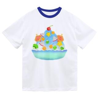 トロピカル・ブルーハワイかき氷 Dry T-Shirt