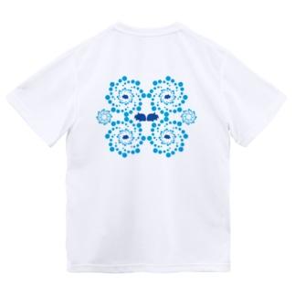 G・Tと渦 Dry T-shirts