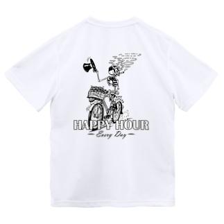 """""""HAPPY HOUR""""(B&W) #2 Dry T-Shirt"""