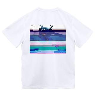 グリッチセーラーちゃん Dry T-shirts