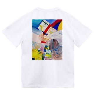 HIDEコラージュ ドライTシャツ