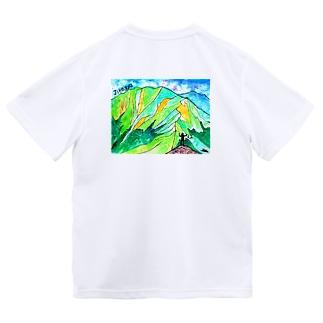 ジローギュー(背面) Dry T-Shirt
