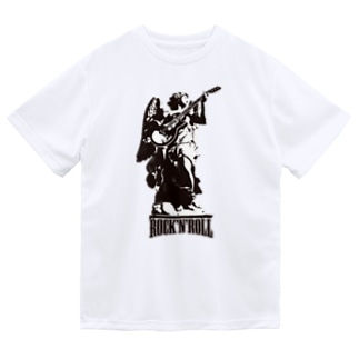 HIGEQLOの天使のロック Dry T-shirts
