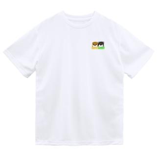 柴犬赤ちゃんズ ドライTシャツ