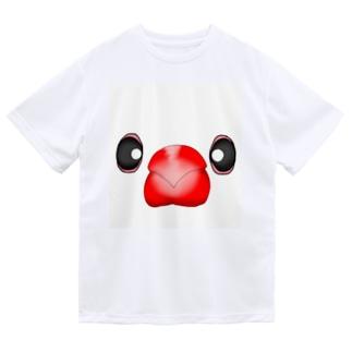 いちご大福?!白文鳥さん Dry T-Shirt