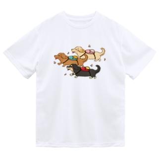 おでかけダックス Dry T-Shirt