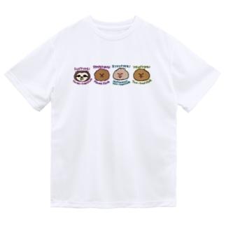 まいにちナマケモノ図鑑 Dry T-Shirt