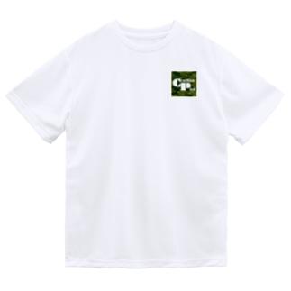 カモフラージュCP-Logo2(緑) Dry T-Shirt