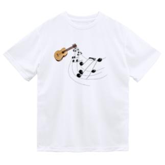 奏でるギター フルカラー① Dry T-Shirt