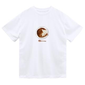 猫カレー🍛おいしそうな いろをした ねこ. Dry T-Shirt
