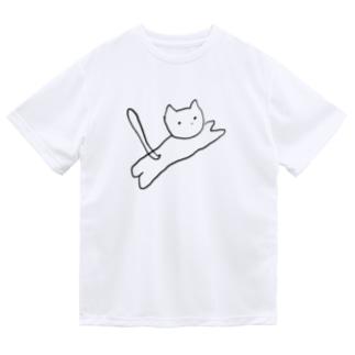 とびねこ Dry T-Shirt