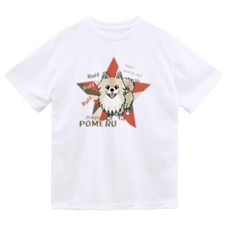 CT08olぽめるはポメラニアンB  Dry T-Shirt