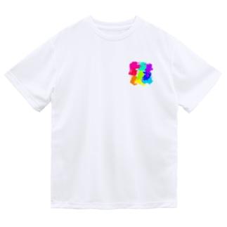 カラフル Dry T-Shirt