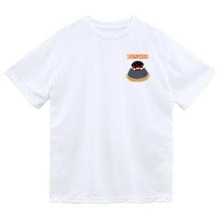 ふもふも桜文鳥② Dry T-Shirt