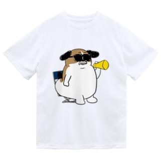 マツバラのもじゃまる監督 Dry T-shirts