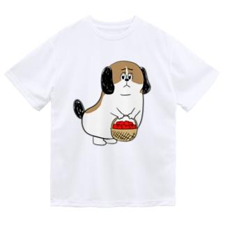 もじゃまるお見舞い Dry T-shirts