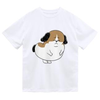 もじゃまる謝罪 Dry T-shirts