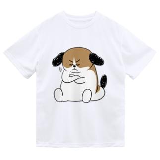 もじゃまる納得 Dry T-shirts