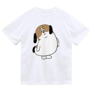 もじゃまるなぁに? Dry T-shirts