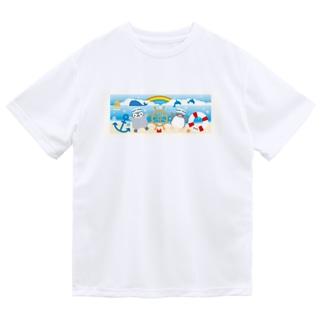 海のペンギン Dry T-Shirt