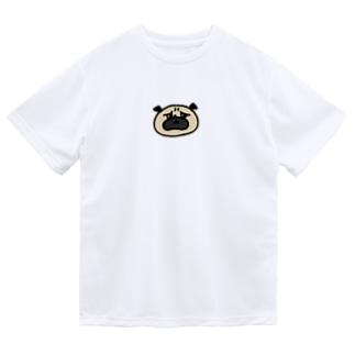 パグさん ドライTシャツ