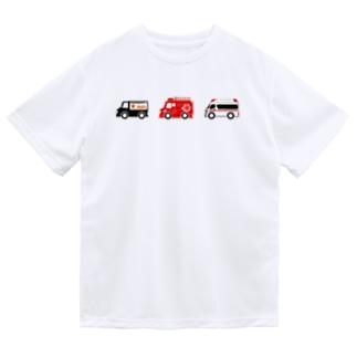 はたらくくるま3(カラー) Dry T-Shirt